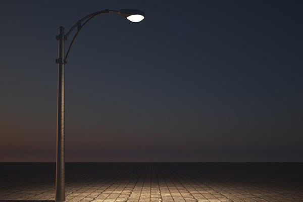 展示場・外灯照明設置工事